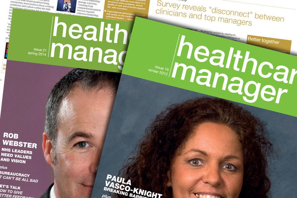 Healthcare Manager magazine