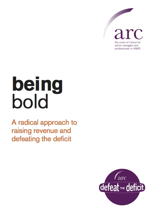Being Bold,  edited, designed and produced by Lexographic for the Association of Revenue & Customs (ARC).