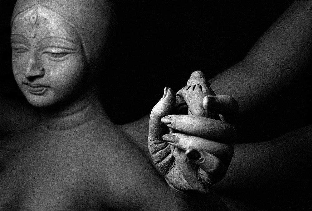 """Smrita Jain  Durga_10 armed godess, 2012  Photographic Print  11""""x17"""""""