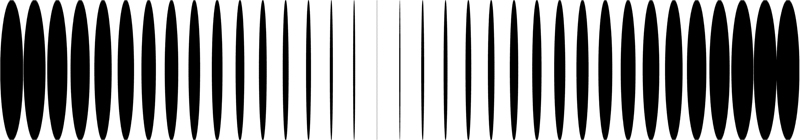 "Joshua Spodek   Back Beat , 2011  Digital print, acrylic lens, acrylic box  6"" x 34.5"" x 4.5"" ed. 1/5"