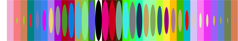 "Joshua Spodek   Allegro , 2011  Digital print, acrylic lens, acrylic box  6"" x 34.5"" x 4.5"" ed. 1/5"