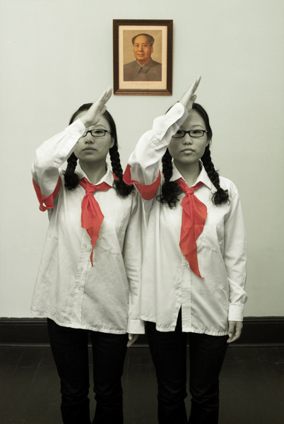 Heungman  Twins 0806, 2006  Chromogenic print  Edition of 8, signed, titled, dated and numbered, 40 x 30 inches