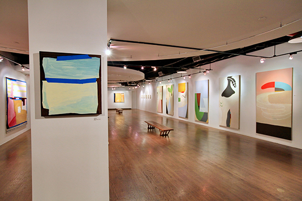 On The Verge: Paintings by Lizzie Scott & Patricia Satterlee     September 19 - October 30, 2014