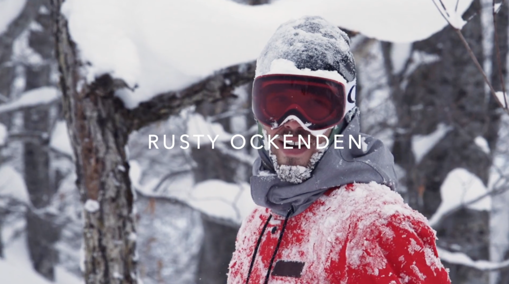 We are really excited for Rusty who has been filming for the new TWSNOW movie ORIGINS.