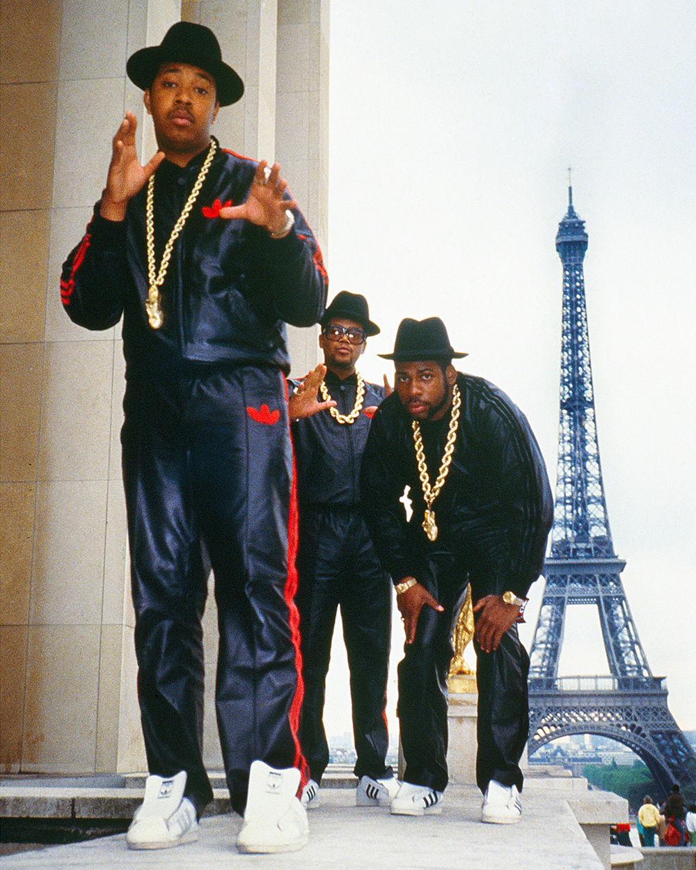 Run DMC Photographed in Paris by Ricky Powell