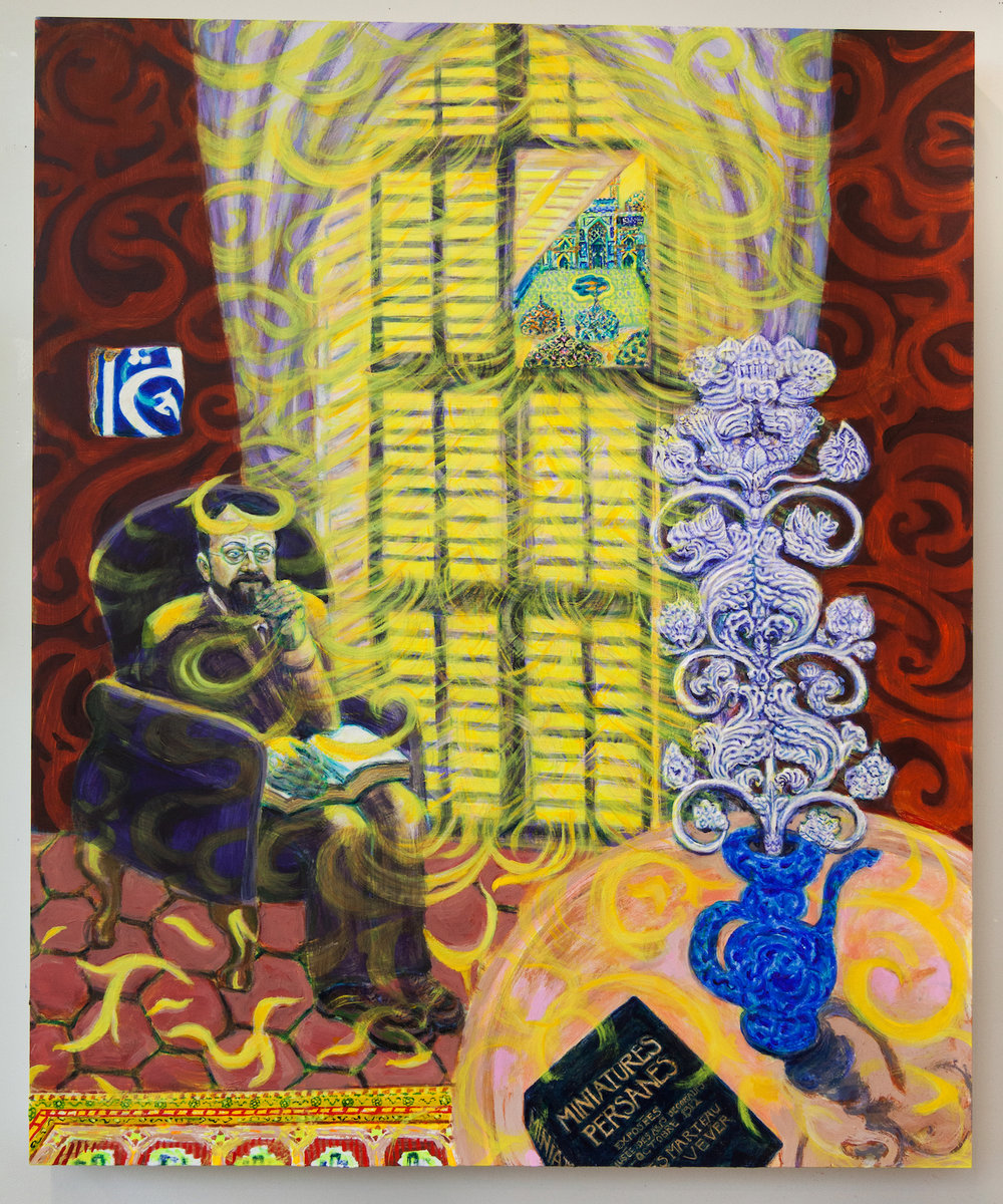 Les Persiennes (Matisse at Window), 2018