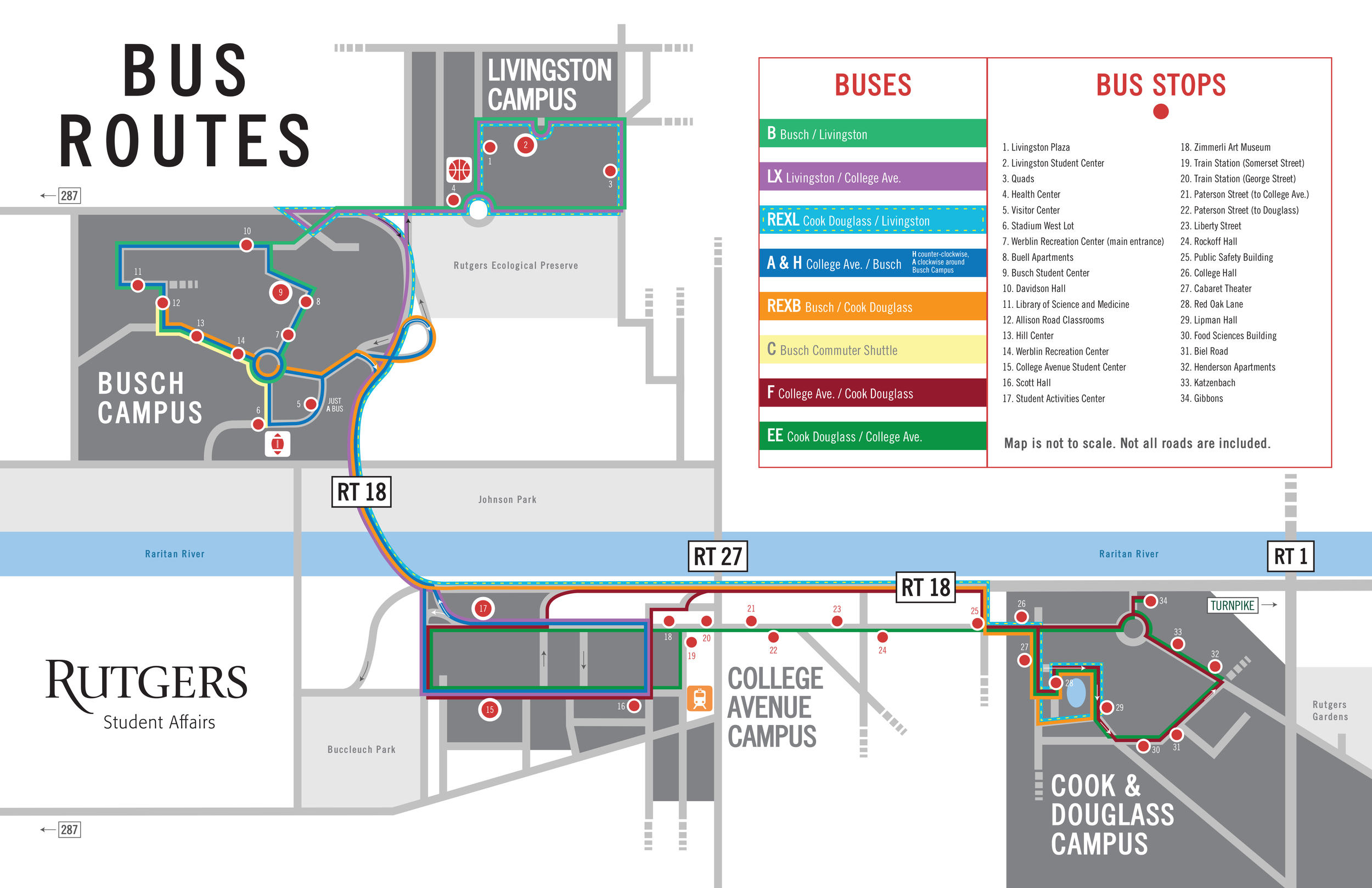 Campus Map — Zachary Manning