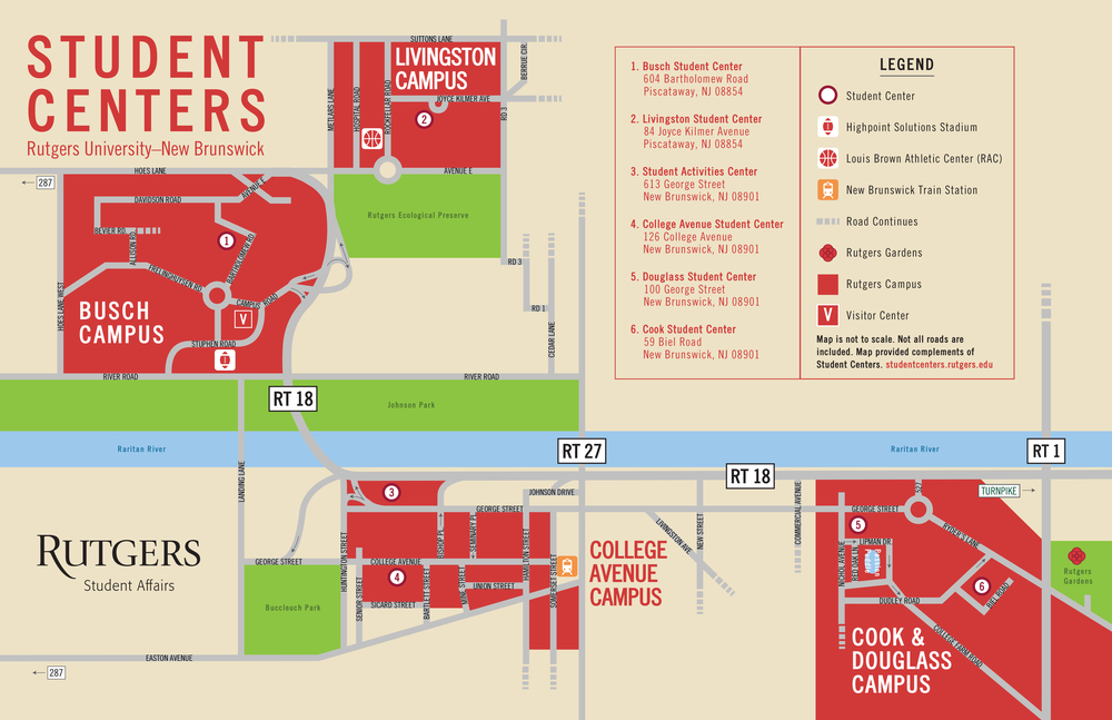 Campus Map Zachary Manning