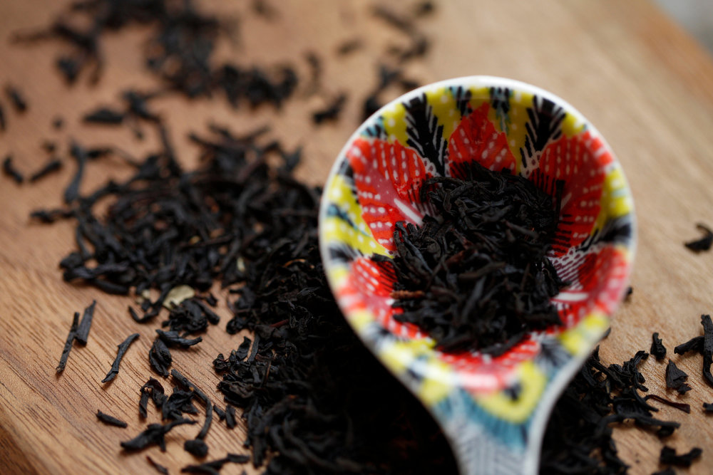 Pictured above is the black tea used in our Dirty Chai!