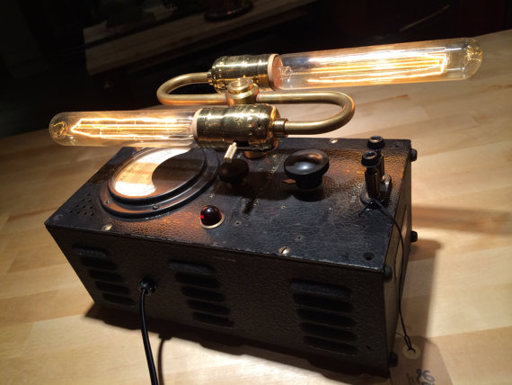 Volt Meter lamp - $150 (sold)