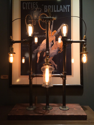 Gatsby Lamp - $550 (sold)