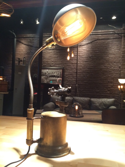 Blow Torch lamp - $125 (sold)