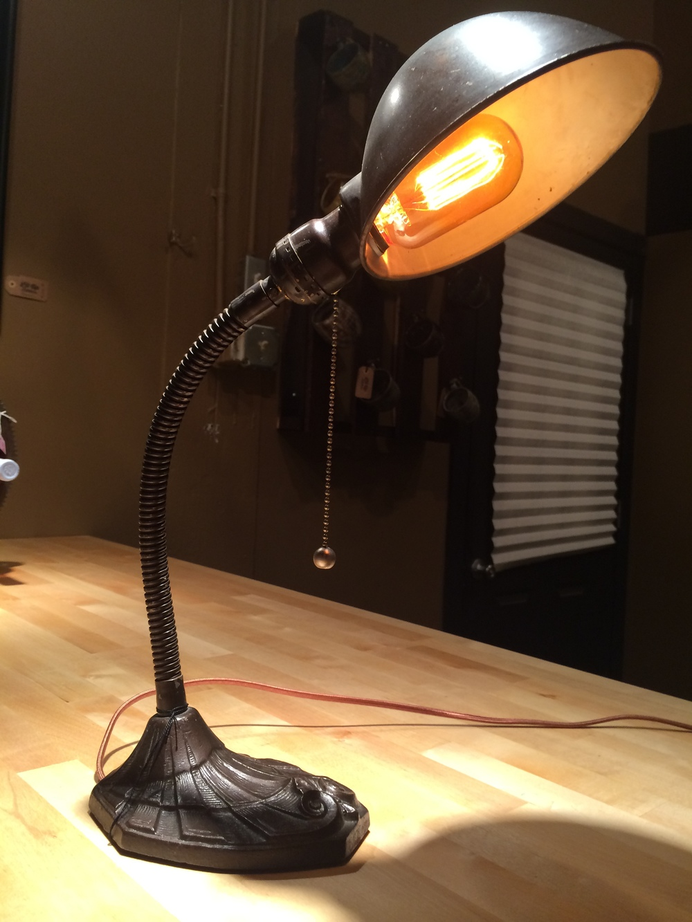1940s Desk Lamp - $75 SOLD