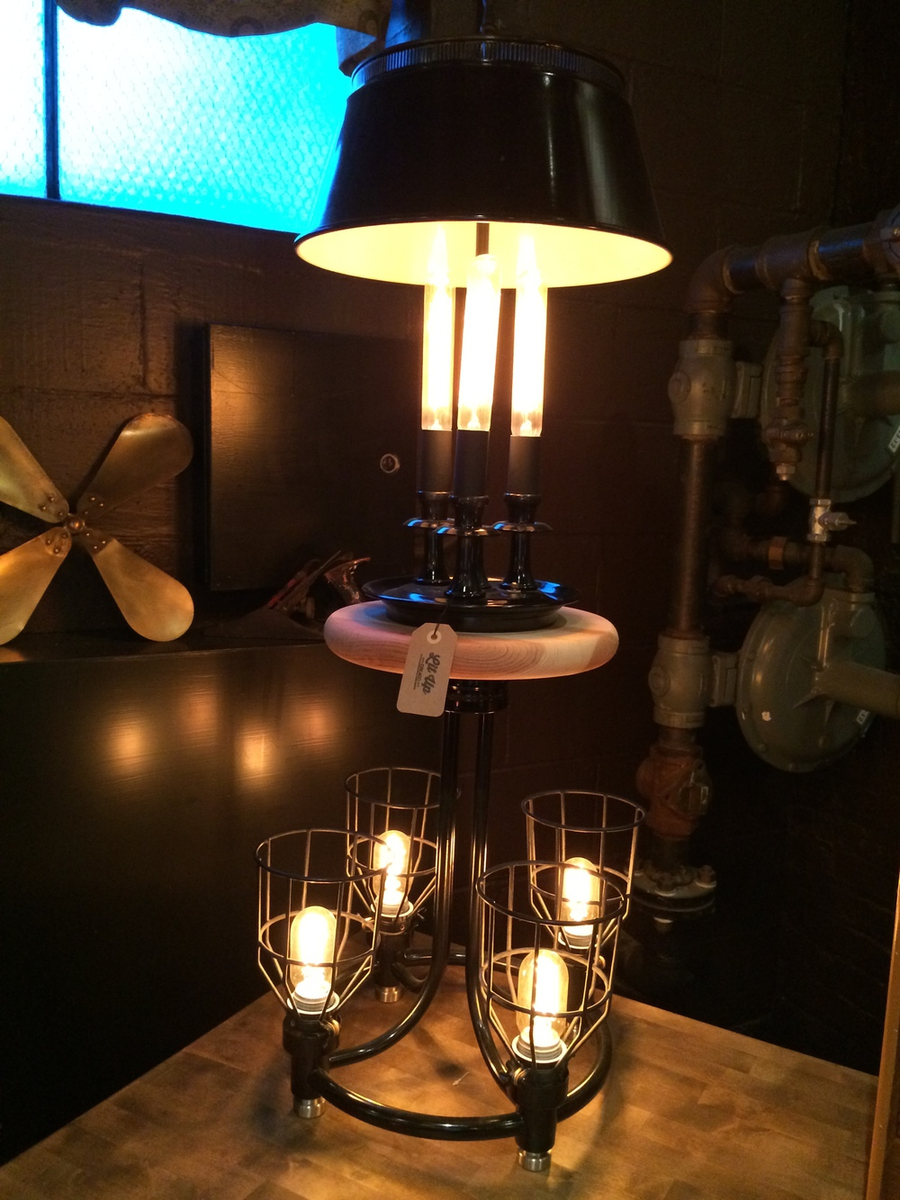 Cage Lamp - $235