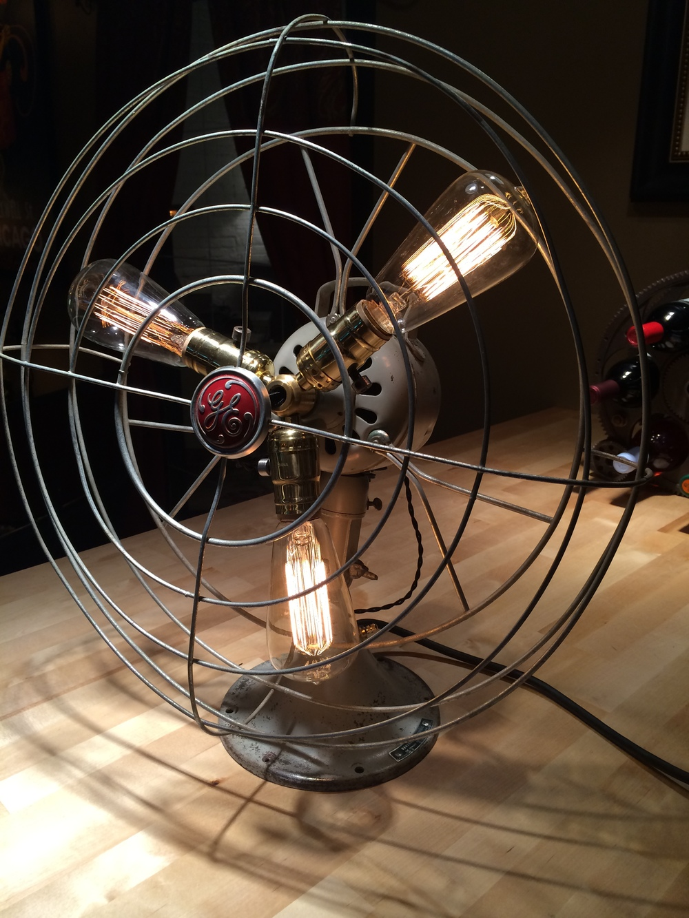 1950's General Electric Fan Lamp - $275