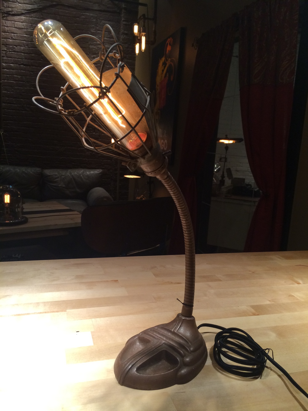 Goose Neck Table Lamp - $79