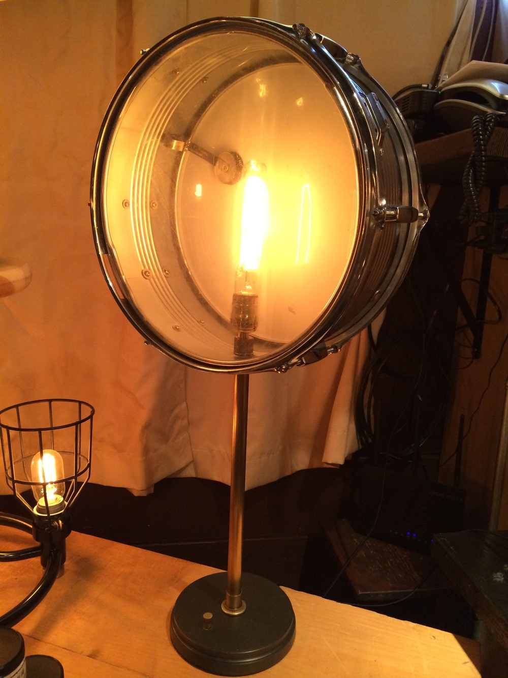 Drum Lamp - $155 SOLD