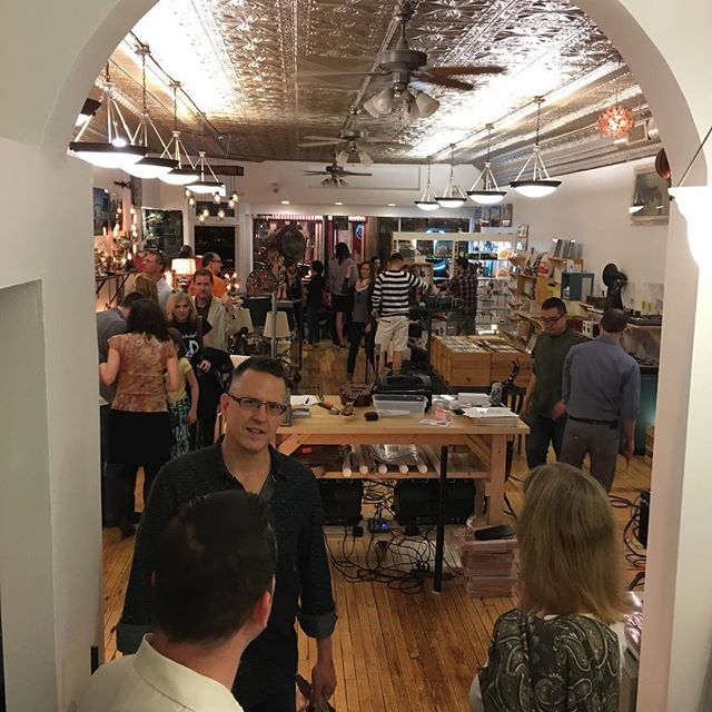 LitUp Chicago has a new permanent home @poshwire in Andersonville. We opened the doors last night for a couple of hours and it was a blast! If you are ever near this area do not miss out on checking us out it is worth the trip.  @litupchicago & @transistorchicago = @poshwire
