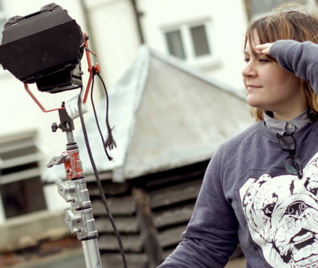 DOP Michelle Tofi on location, 2013