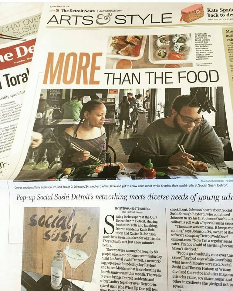 Detroit News Article 3/29/16 by Stephanie Steinburg