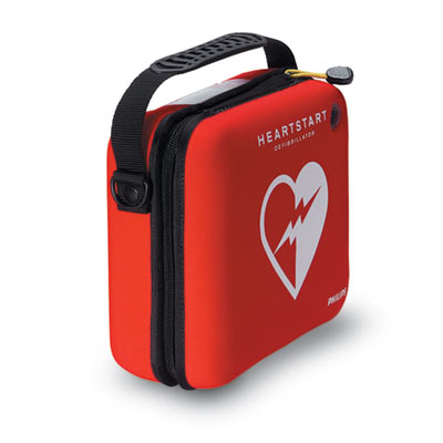 "Slim Case-holds Defibrillator, pads and a pair of scissors. 9.5""w,8.5""h,3.5""d ."