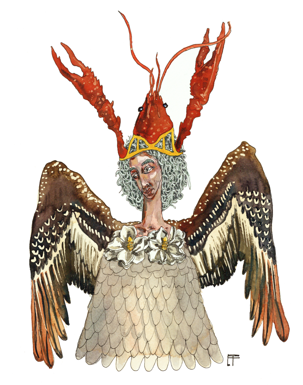 Louisiana Deity: Pelican