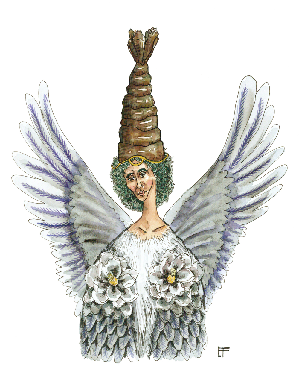 Louisiana Deity: Egret