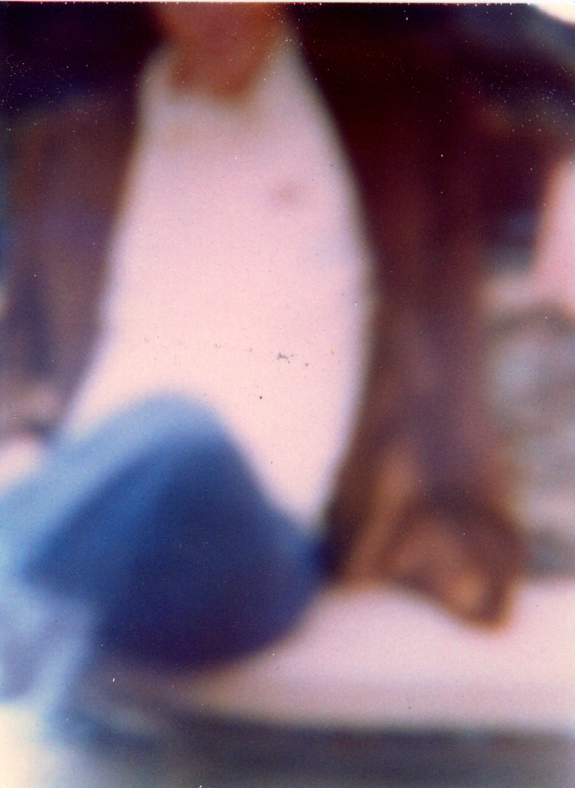 On Bench, Polaroid, 2002