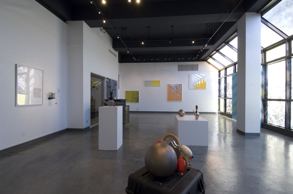 Installation view at Santa Barbara City College, Santa Barbara, CA 2007