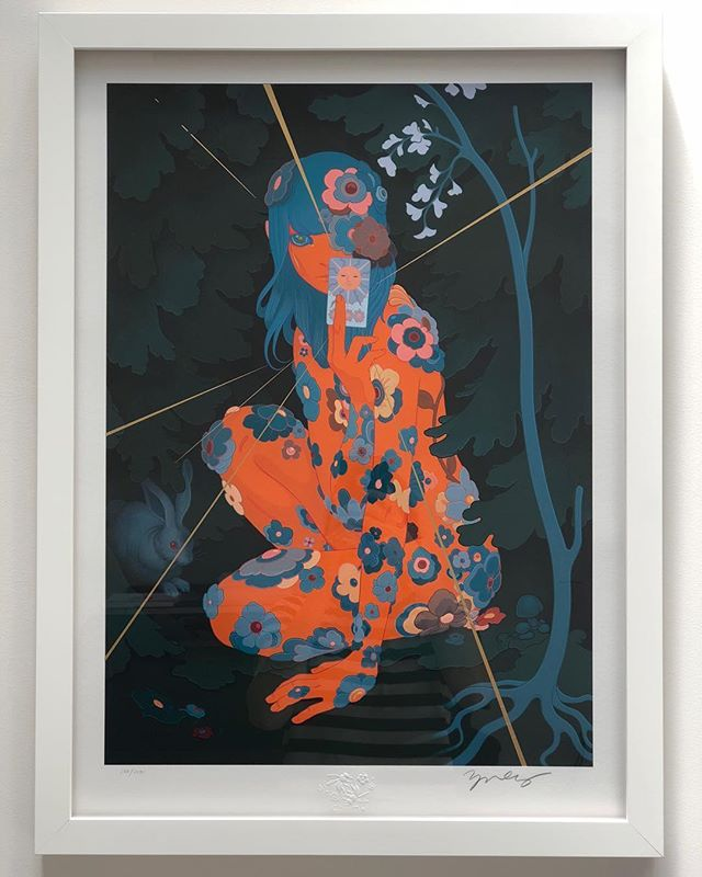 Our most recent addition of @jamesjeanart work to the @sylvia.yanakieva collection #jamesjean