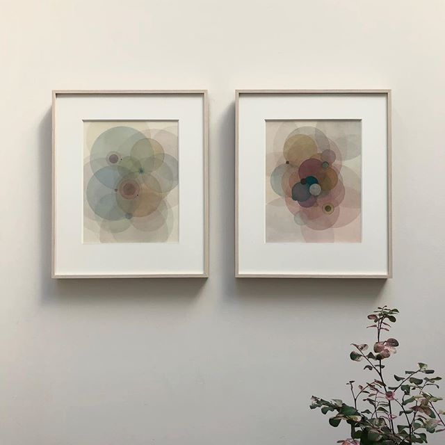 Ethereal pair of @evanvenegas works courtesy of @uprisenyc for @kekoeka !