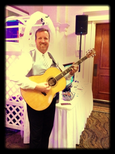 We have everything you need for your wedding or event! {DJ Ken at the Naples Bridal Expo}