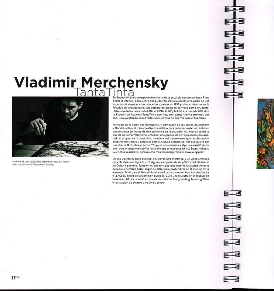 Entrevista de Hoornik a Vladimir Merchensky