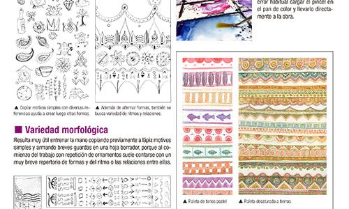 Enriqueciendo grafismos - Lográ ornamentos ricos y variados siguiendo simples y claras premisas.