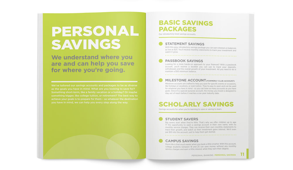 BENEFICIAL BANK ROB QUIGLEY ART DIRECTION GRAPHIC DESIGN