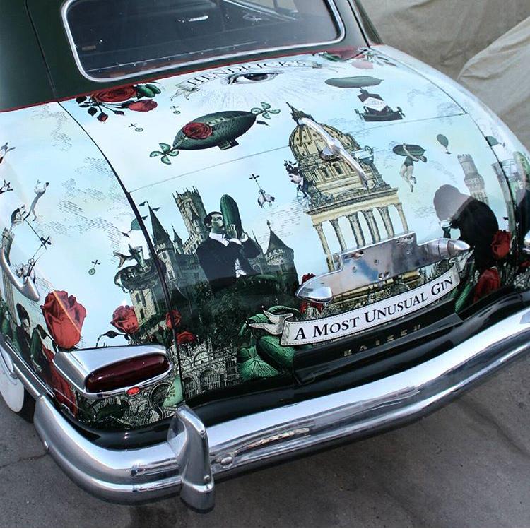 Kaiser Car Wrap