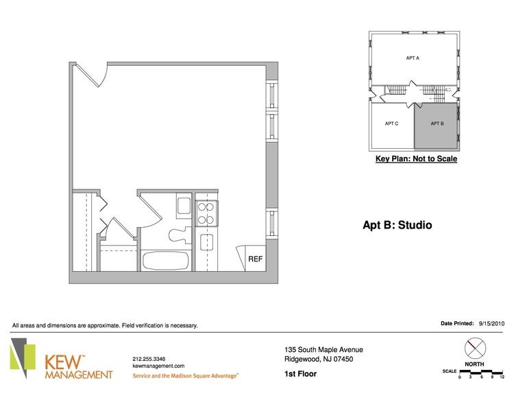 Studio Apartment Nj floorplans - cloister apartments near ridgewood avenue — ridgewood