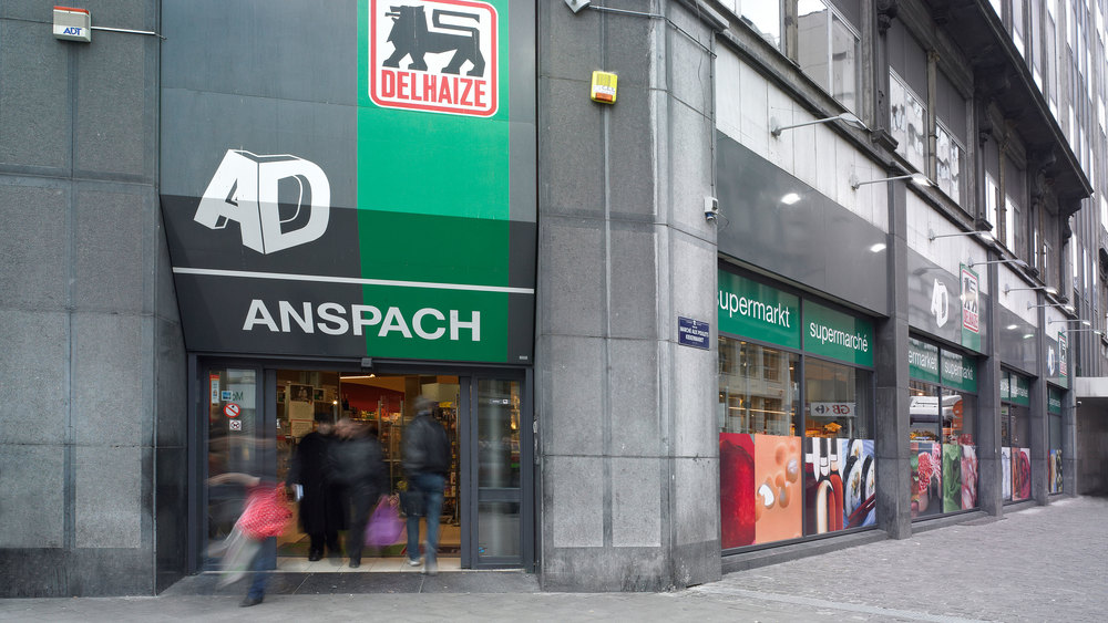 AD Delhaize Anspachlaan Brussel