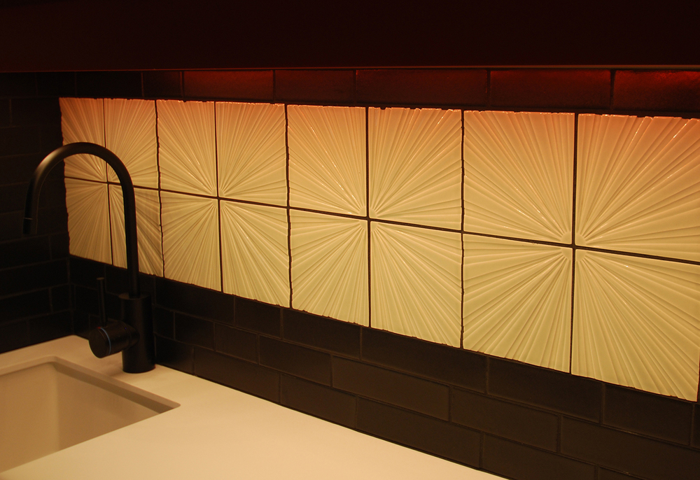 Clayhaus Topo Tile Collection: 'Wax Wane'