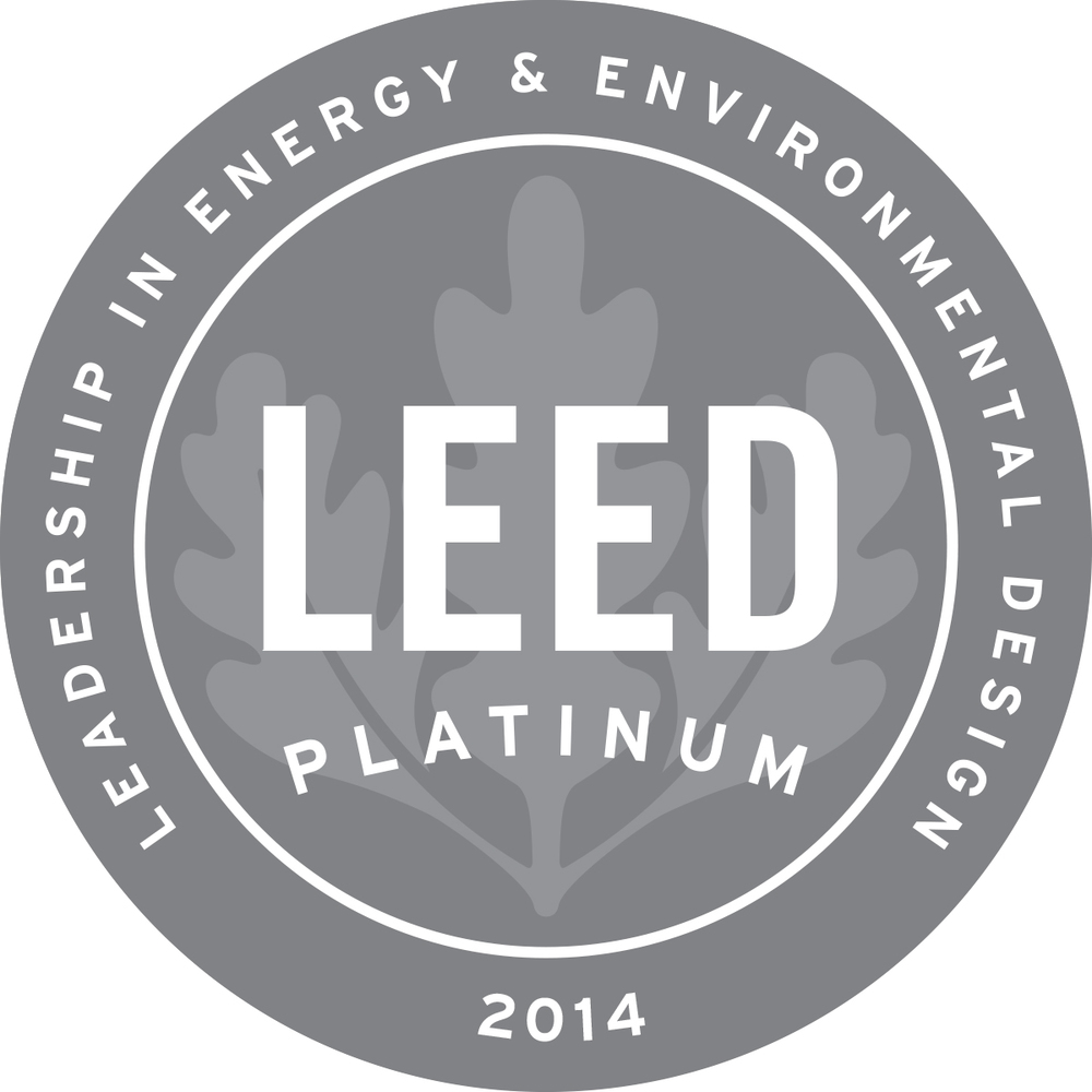 The Almost All American Home Awarded Prestigious Leed Green