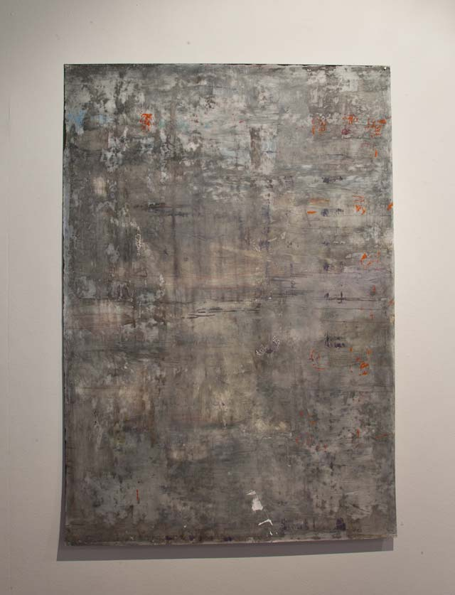 "Thomas Magnusson: ""Mist"". Oil on acrylic plastic, 70 x 100 cm"