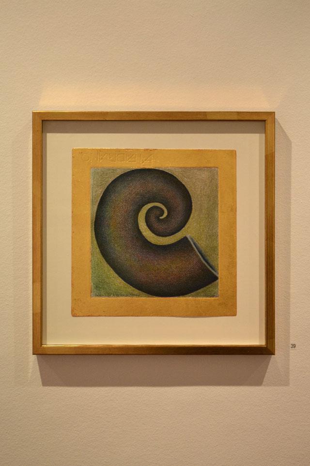 """Ragnhild Alexandersson: """"Medusa dreams"""", 30 x 30 cm"""