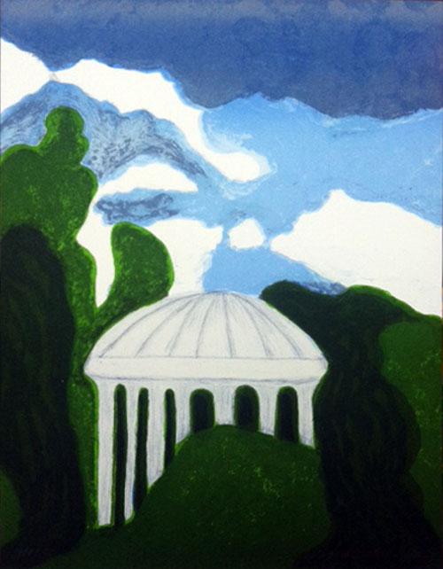 Barbro Andersson – Pavillion Amore Versailles. 2012. 34 x 26 cm
