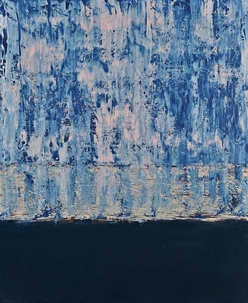 "Rita Börlin: ""Tranparens"". Oil, 33 x 41 cm"