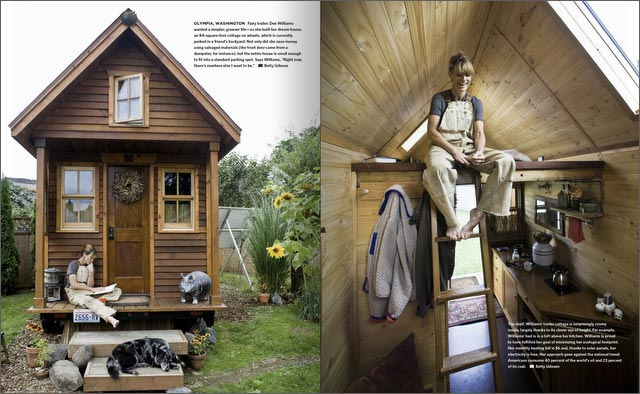 America At Home Features a Tiny House