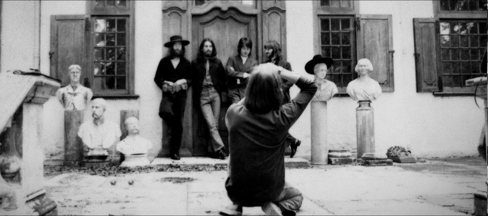 Ethan Russell photographing The Beatles in 1969