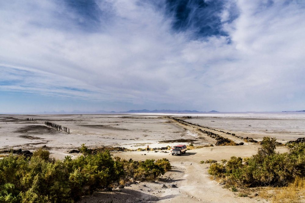Marsha Guggenheim -  The Spiral Jetty