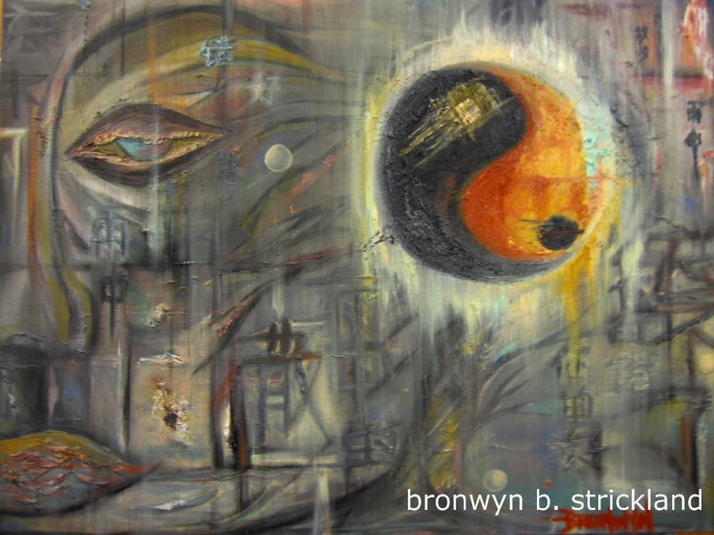 """""""A Prayer for China""""  2012, Oil on canvas 24"""" x 18"""""""
