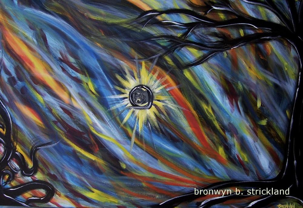 """Trusting""  2009, Acrylic on canvas 36"" x 24"""