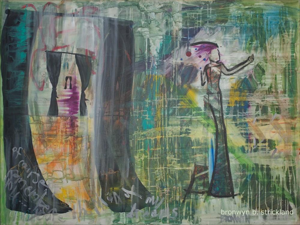 """Alice in Wonderland""  2007, Acrylic on canvas 48"" x 36"""